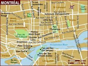map montreal canada image gallery montreal map