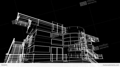 building sketch building sketch construction stock animation 503045