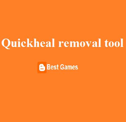 quick heal password reset tool quickheal removal tool