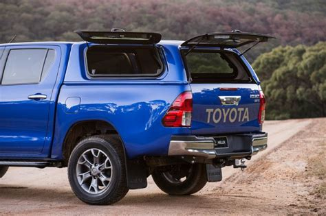 hilux awning 2016 toyota hilux accessories revealed developed in australia performancedrive