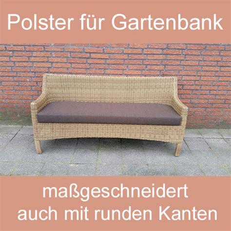 Gartenbank Polster gartenbank sitzbank polsterauflage sitzpolster nach ma 223