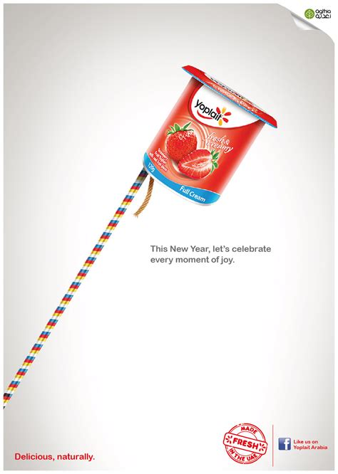 yeo s new year ads yoplait yoghurt new years ads unreleased on behance