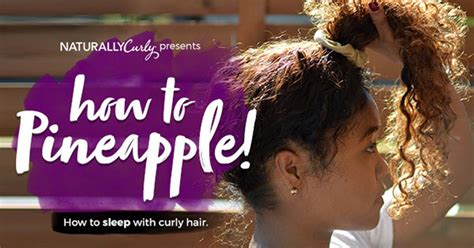Pineapple Pony Pita Blk the pineapple method for hair tutorial