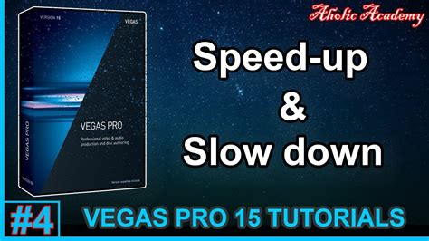 tutorial vegas pro 15 vegas pro 15 how to speed up slow down clips