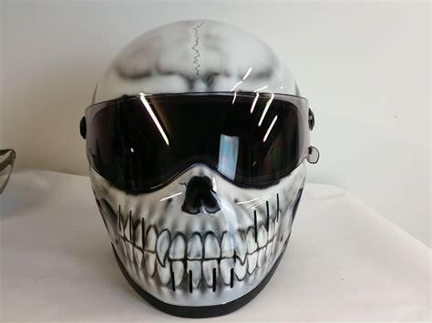 Motorradhelm Totenkopf by Skull Crash Helmets For Motorcycles Blaze Artworks