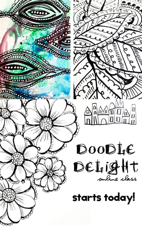 doodle today alisaburke doodle delight goes live today