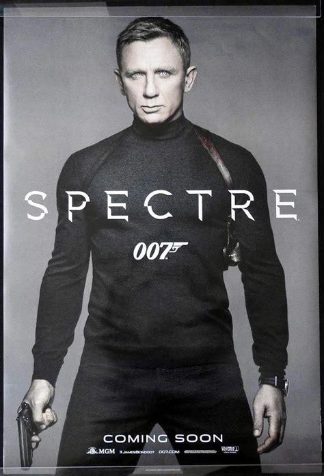 Kaos Bond Spectre Rsoy spectre australian one sheet poster b daniel craig bond