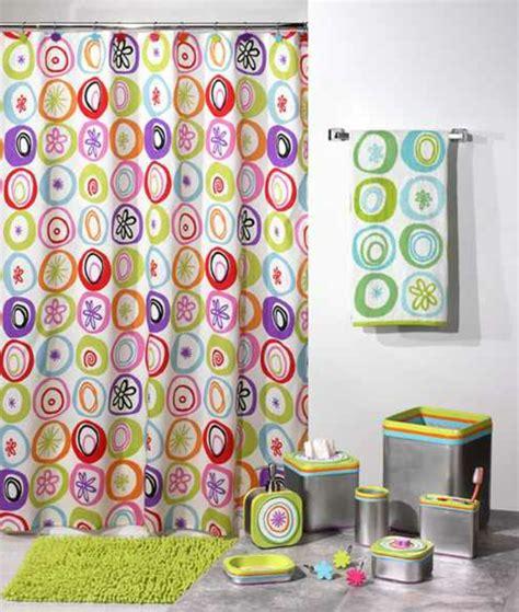 vorhang bunt badezimmer vorhang sch 246 ne muster und farben im bad