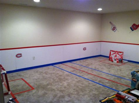 44 Best Hockey Room Ideas Basement Hockey Rink