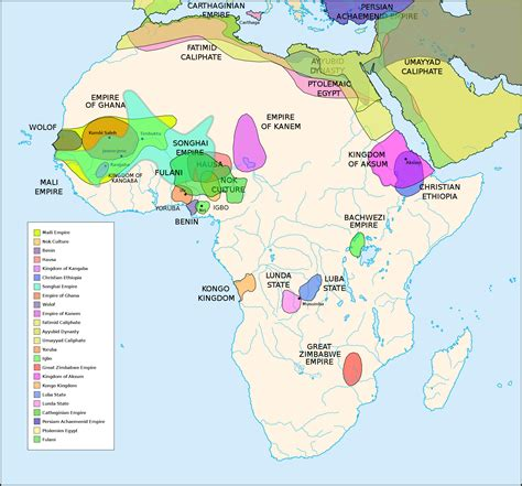world map 500 ad pre colonial cultures of africa 500 bc 1500 ad full size