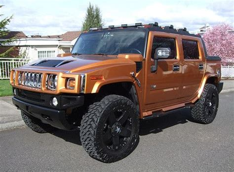 automobile air conditioning service 2006 hummer h2 windshield wipe control find used 2006 hummer h2 sut 4x4 limited edition magna supercharger rare fusion orange in