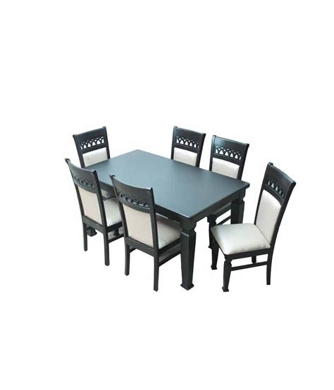 Solid Wood 6 Seater Dining Set Buy Solid Wood 6 Seater Dining Set At Best Prices In Solid Wood 6 Seater Dining Set Buy At Best Price In India On Snapdeal