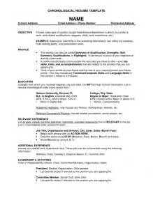 recent format of resume pacq co