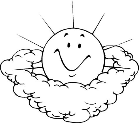 happy sun coloring page photo sun and clouds earth day coloring pages album