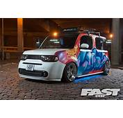 Modified Nissan Cube  Fast Car