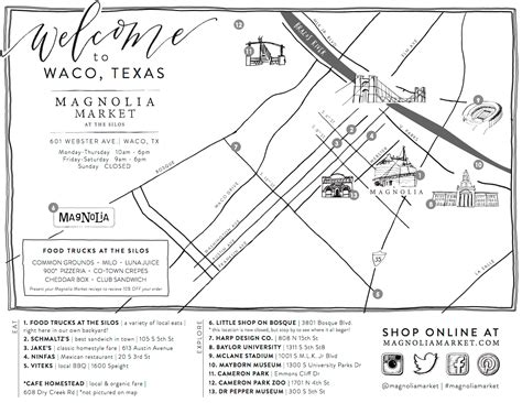 waco texas maps how the market came to be joanna s favorite waco places magnolia market