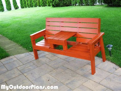 diy outdoor bench with seat myoutdoorplans free woodworking plans and projects diy shed
