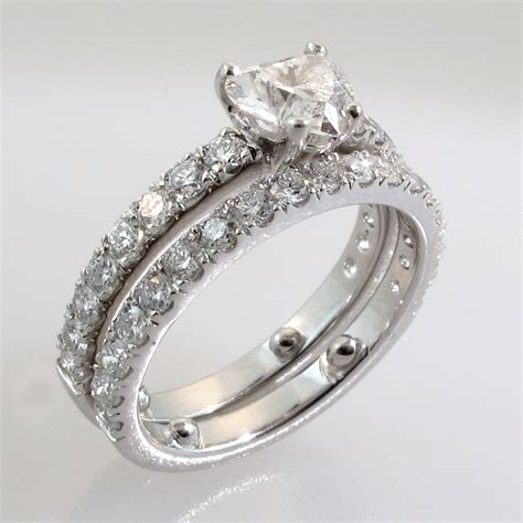 wedding rings and bands sets engagement rings 1 carat