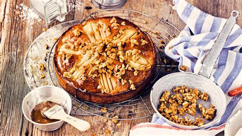 Birnen Walnuss Kuchen