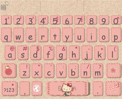go keyboard themes stitch love pink hellokitty stitch keyboard skin