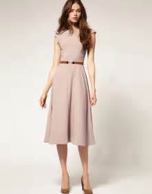 Asos asos midi dress with contrast belt at asos