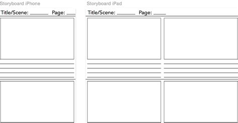 storyboard template word professional blank animation storyboard template word pdf