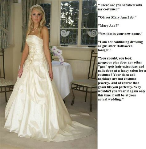 Wedding Captions The 122 Best Images About Tg Captions Brides On Pinterest Sissi Cap D Agde And For Her