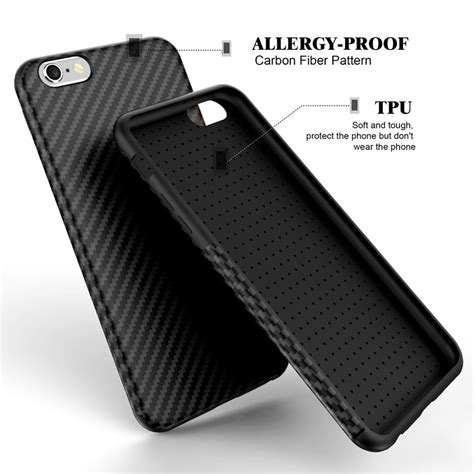 Iphone 7 Carbon carbon fiber for iphone 7 iphone 7 plus soft cover