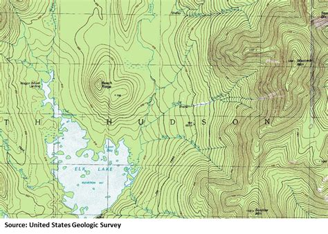 topo map navigation basics types of maps cing and hiking news