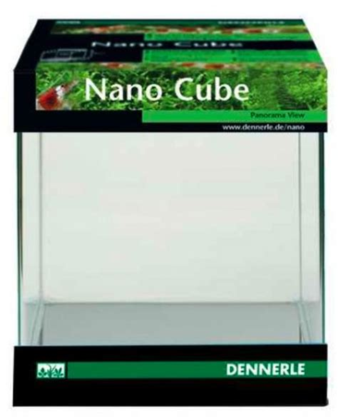 Lu Tl Aquarium nano cube 10l sans technique les nanos aquariums