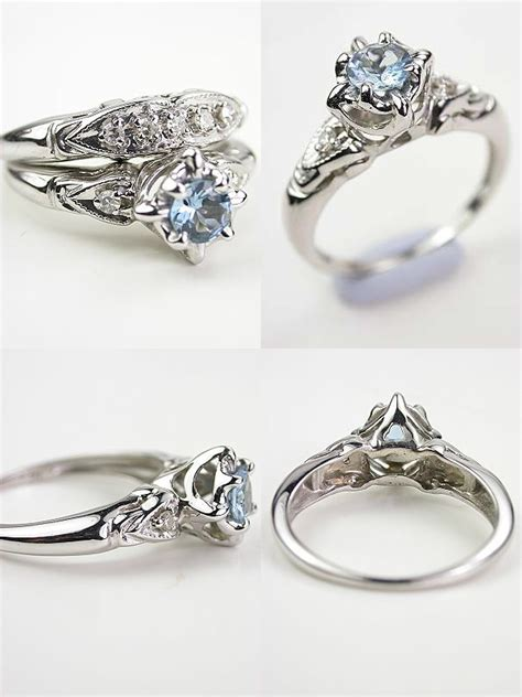 vintage look engagement rings best