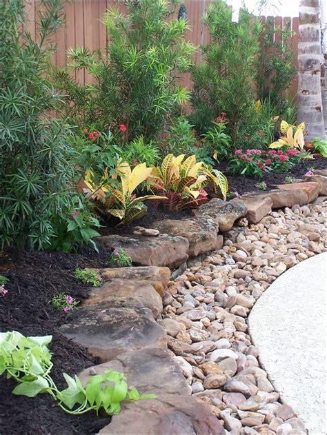 Landscape Rock Nearby Best 25 Rock Flower Beds Ideas On Landscape
