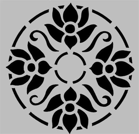 Buchcover Design Vorlagen stencil floral damask no 4 by artisticstencils on