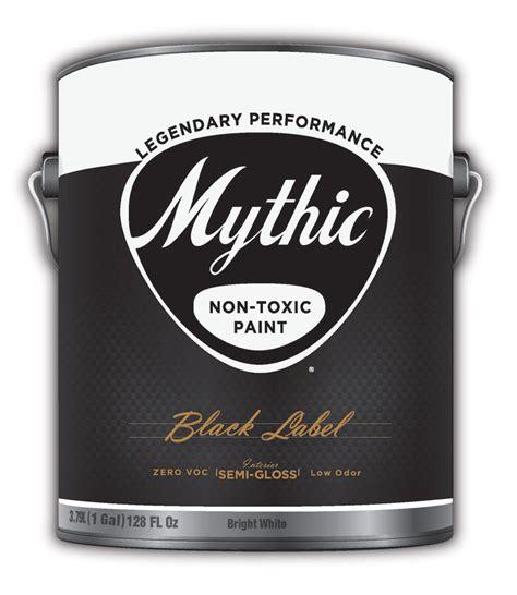 3 low toxicity paints mythic black label paint non toxic low odor 100