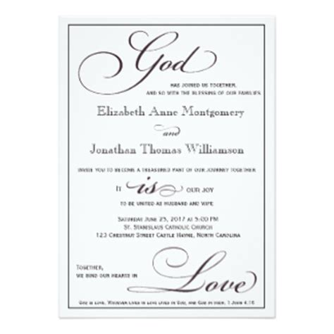 christian wedding card templates god christian wedding invitation cards best sle