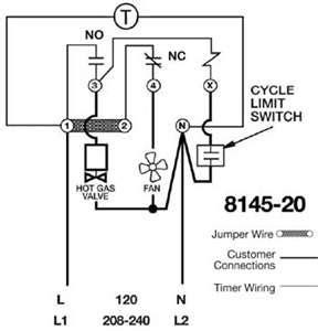 paragon 8145 20 defrost repair questions fixya