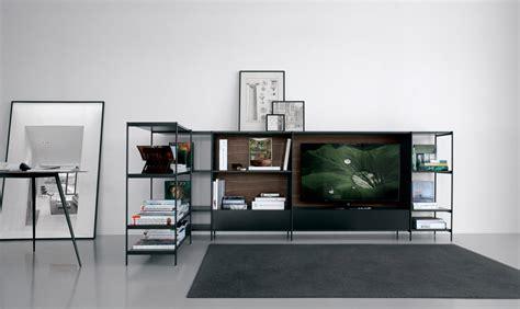 libreria d libreria in alluminio ad angolo per tv extendo