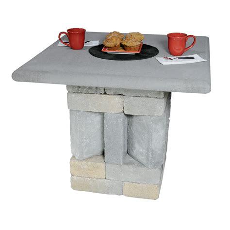 Patio Table Kit Patio And Pub Table Kit Concrete Patio Pavers Boston