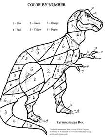 cool color by number coloring pages cool color by number dinosaur 95 1437