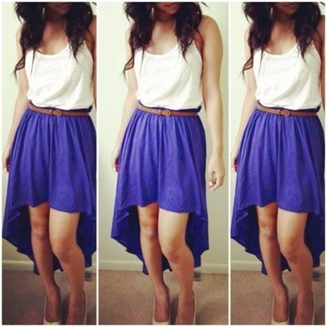 skirt purple purple skirt belt waist belt brown belt