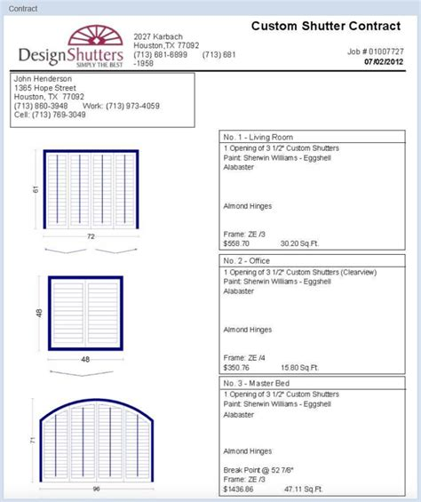 scale drawing program quotes contracts shutterpro