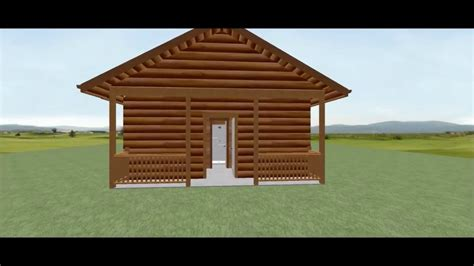 20 X 20 Log Cabin by Conestoga Log Cabin Kit Tour 20 X 36 Mountain King