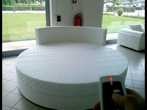 bed spins letto rotondo mod queen girevole motorizzato con