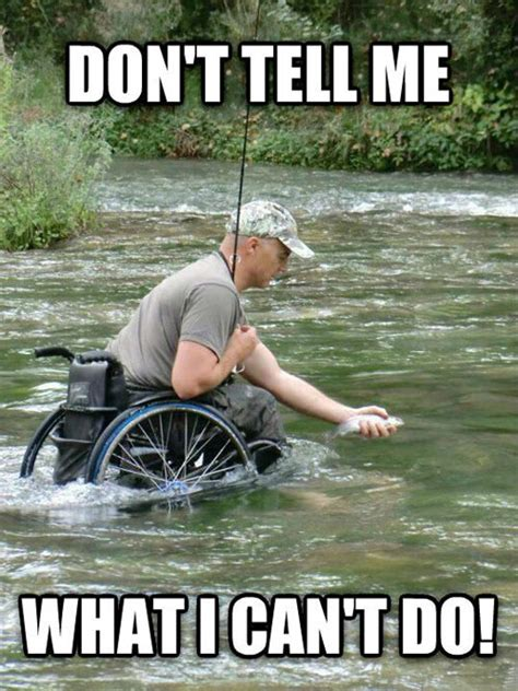 Wheelchair Meme - nothing is really impossible