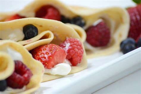 the best crepe recipe berry cheese crepes the idea room