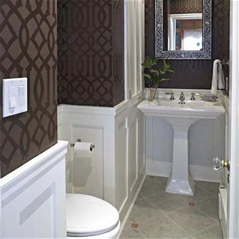 powder rooms with wainscoting powder room with wainscoting transitional bathroom