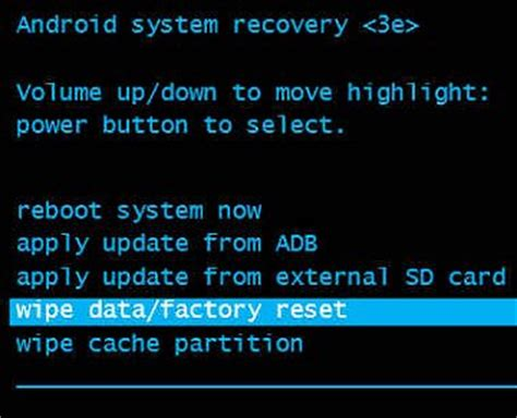 reset android jelly bean tablet hp tablets performing a factory reset on your tablet