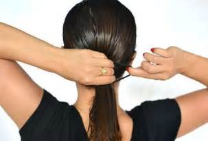 tying of hair 10 hair care tips for indian women to get beautiful hair