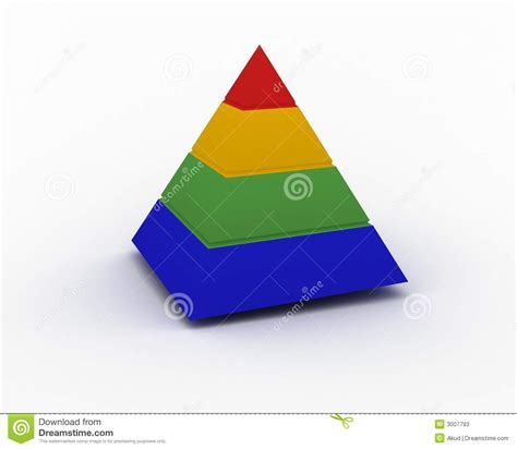 color pyramid color pyramid stock photos image 3007793