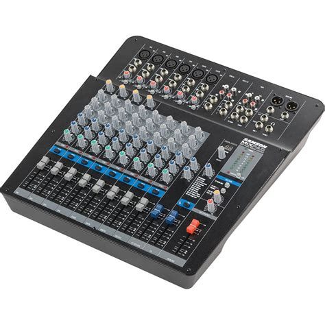 Mixer Audio Samson samson mixpad mxp144fx 14 channel analog stereo mixer